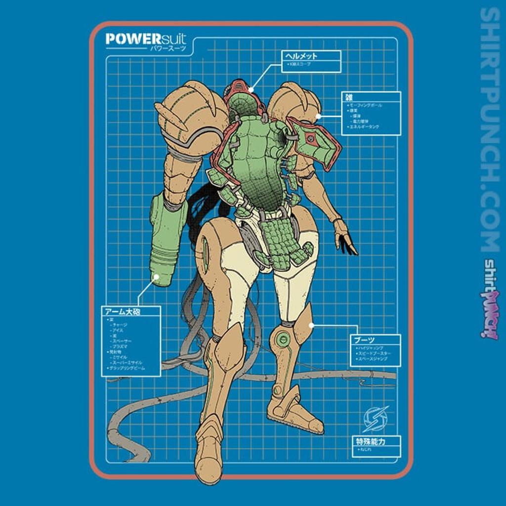 ShirtPunch: Super PowerSuit