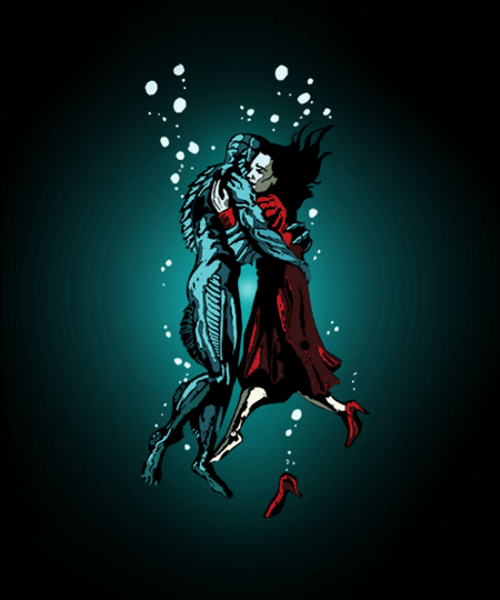 Qwertee: Love in the Water