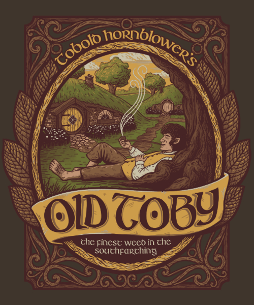 Qwertee: Old Toby