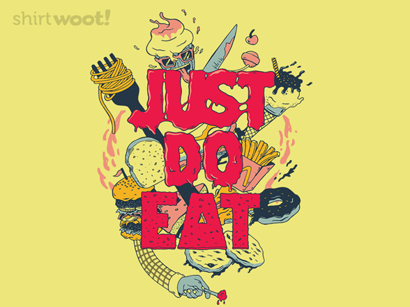 Woot!: Just Do Eat - $8.00 + $5 standard shipping
