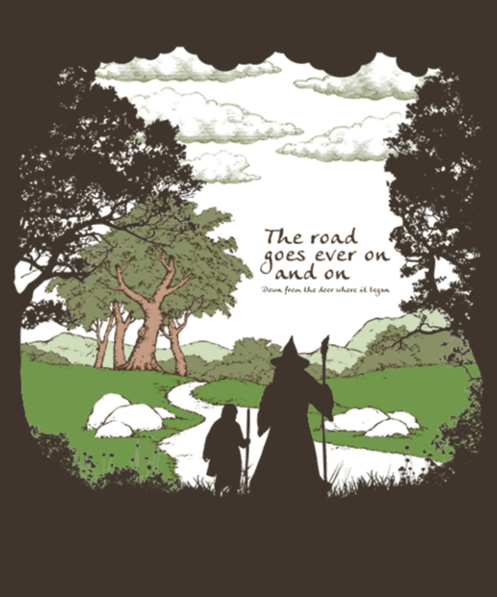 Qwertee: The Road Goes On