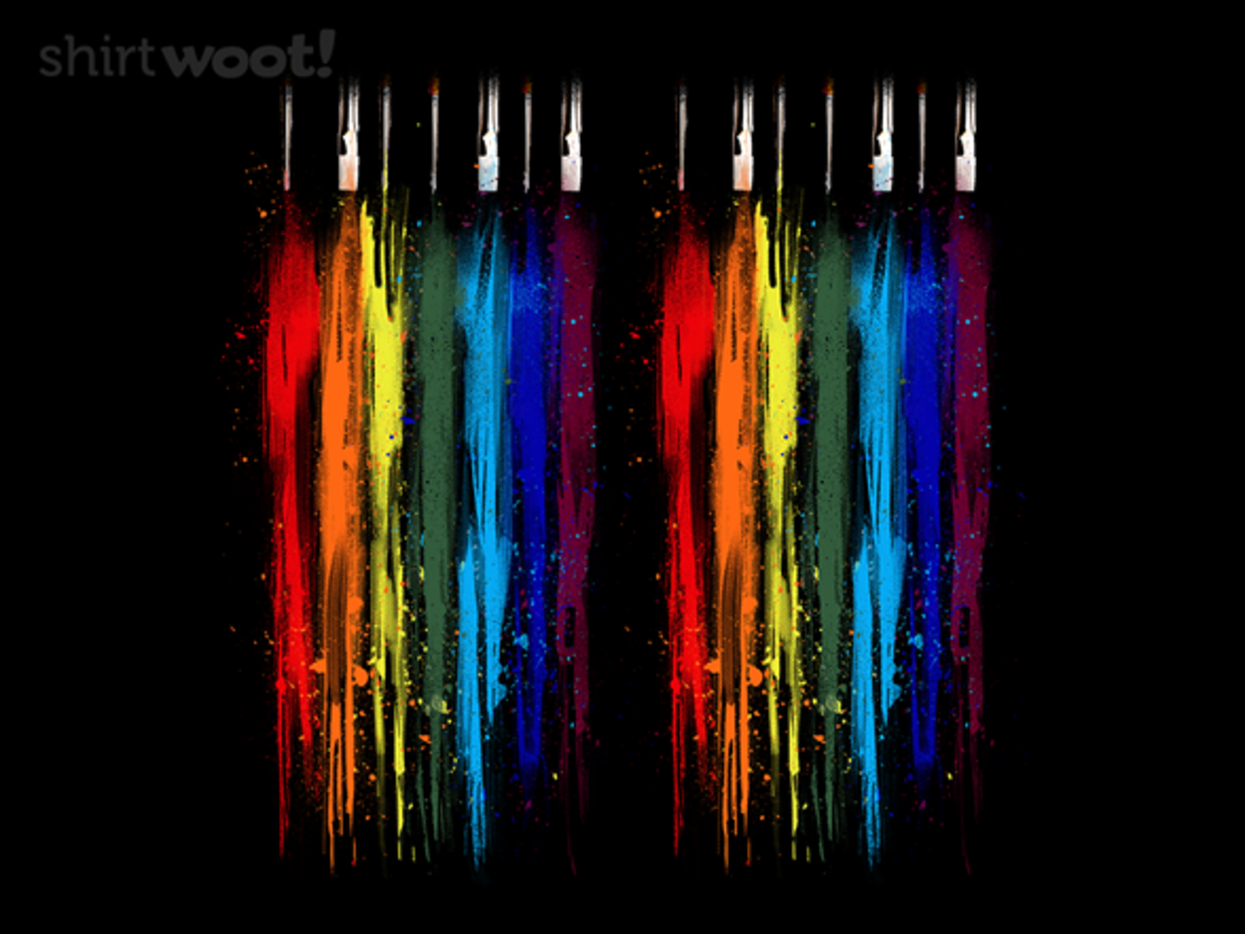 Woot!: Paint Abstract