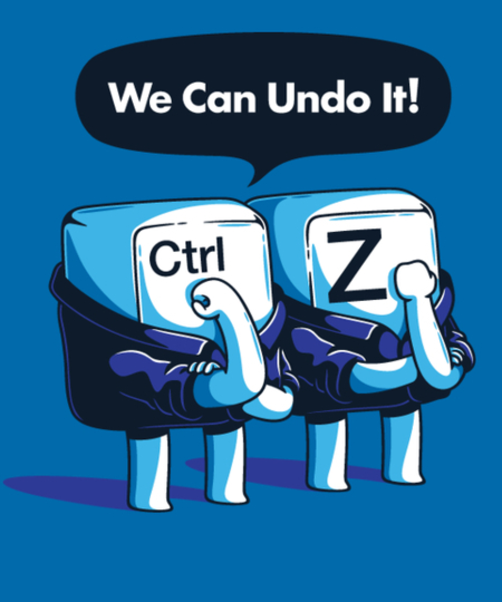 Qwertee: We Can Undo It!