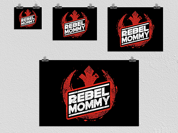 Woot!: Rebel Mommy Poster