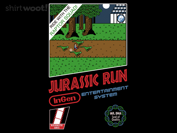 Woot!: Jurassic Run - $8.00 + $5 standard shipping