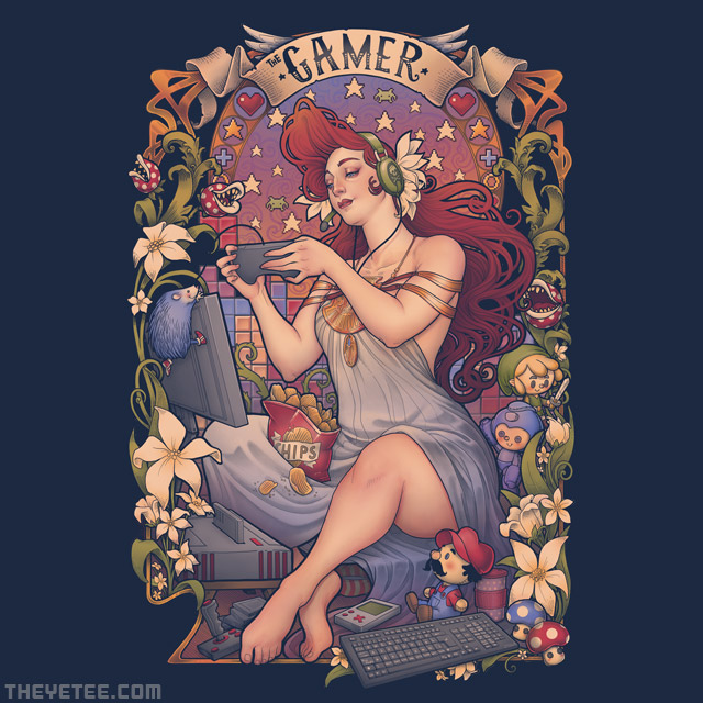The Yetee: Gamer Nouveau