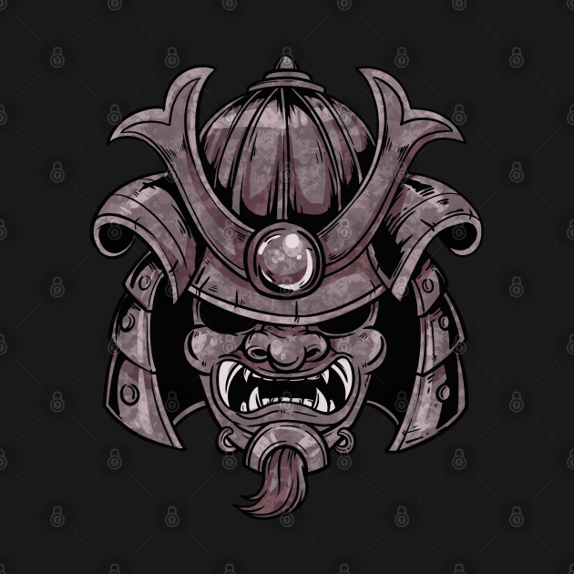 TeePublic: Samurai Ninja Mask Japan Warrior