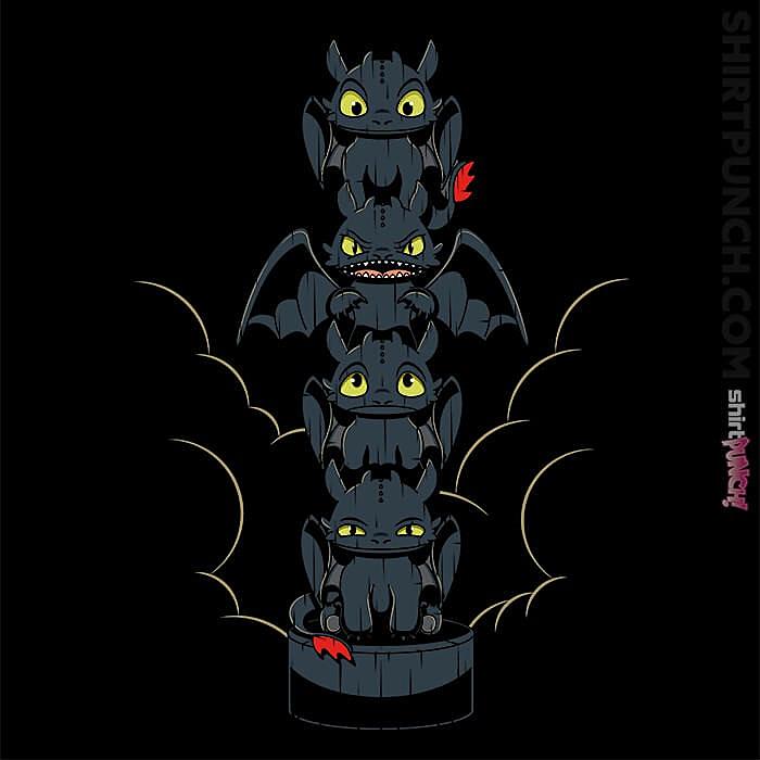 ShirtPunch: Dragon Mood Totem