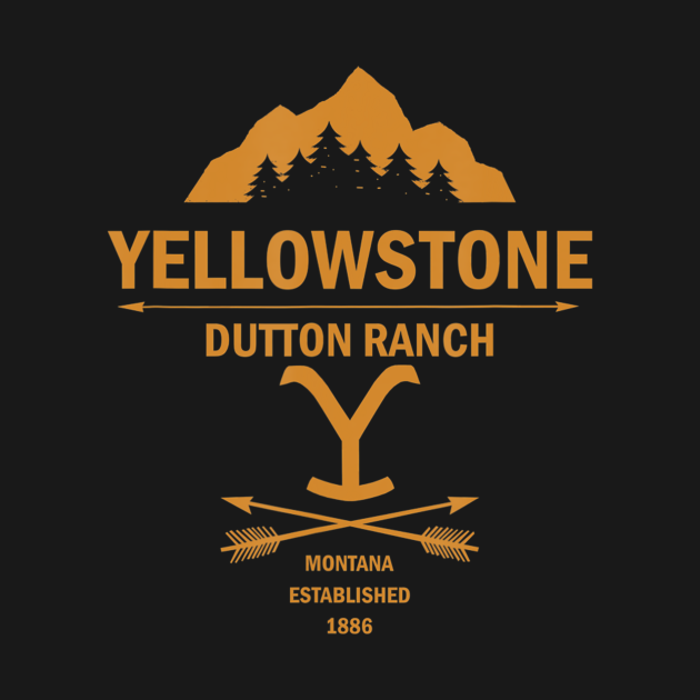 TeePublic: Yellowstone Dutton Ranch