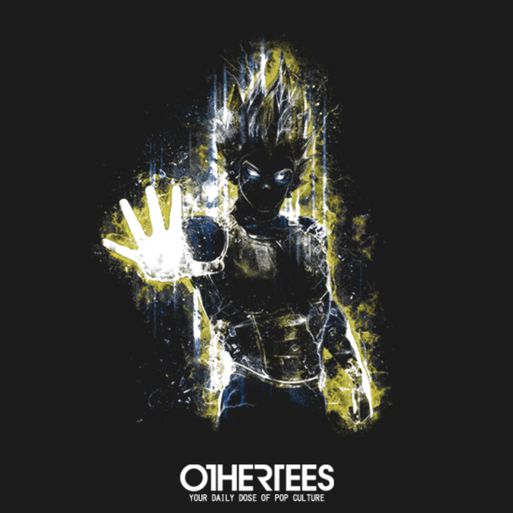 OtherTees: Saiyan Fury