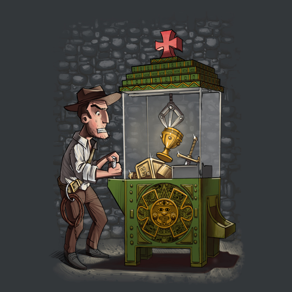 NeatoShop: Indy's last coin