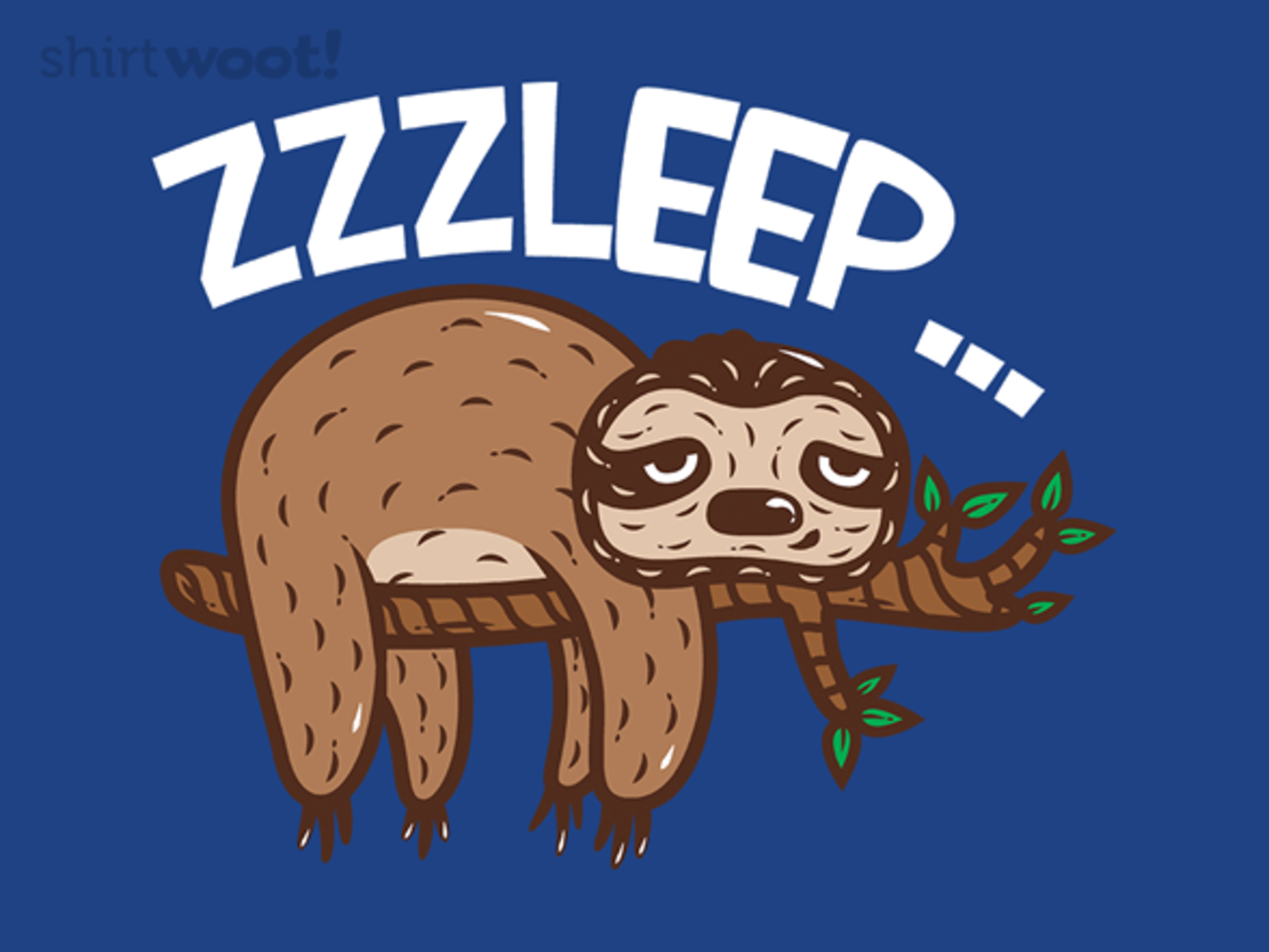 Woot!: ZZZleep - $8.00 + $5 standard shipping