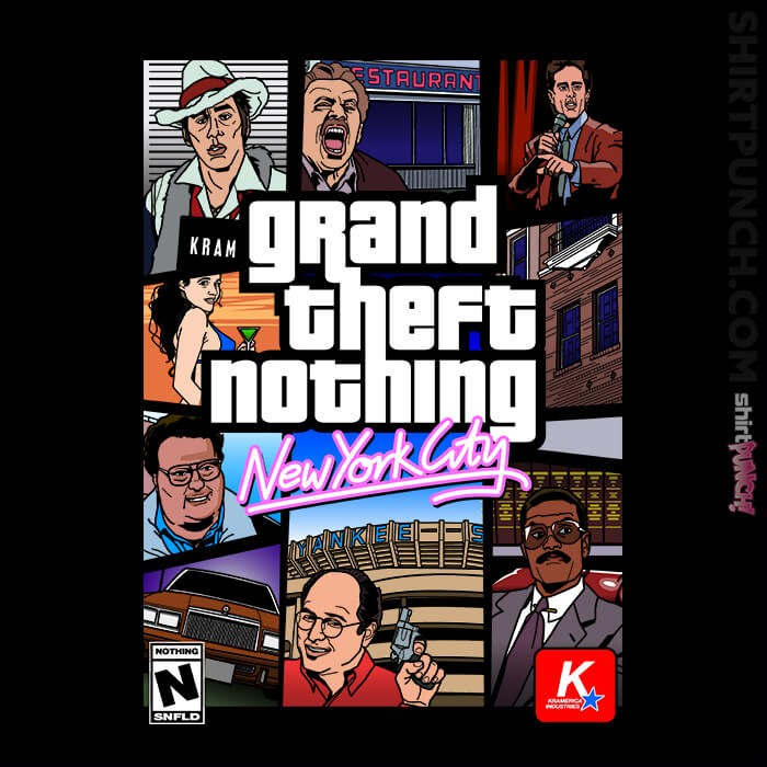ShirtPunch: Grand Theft Seinfeld