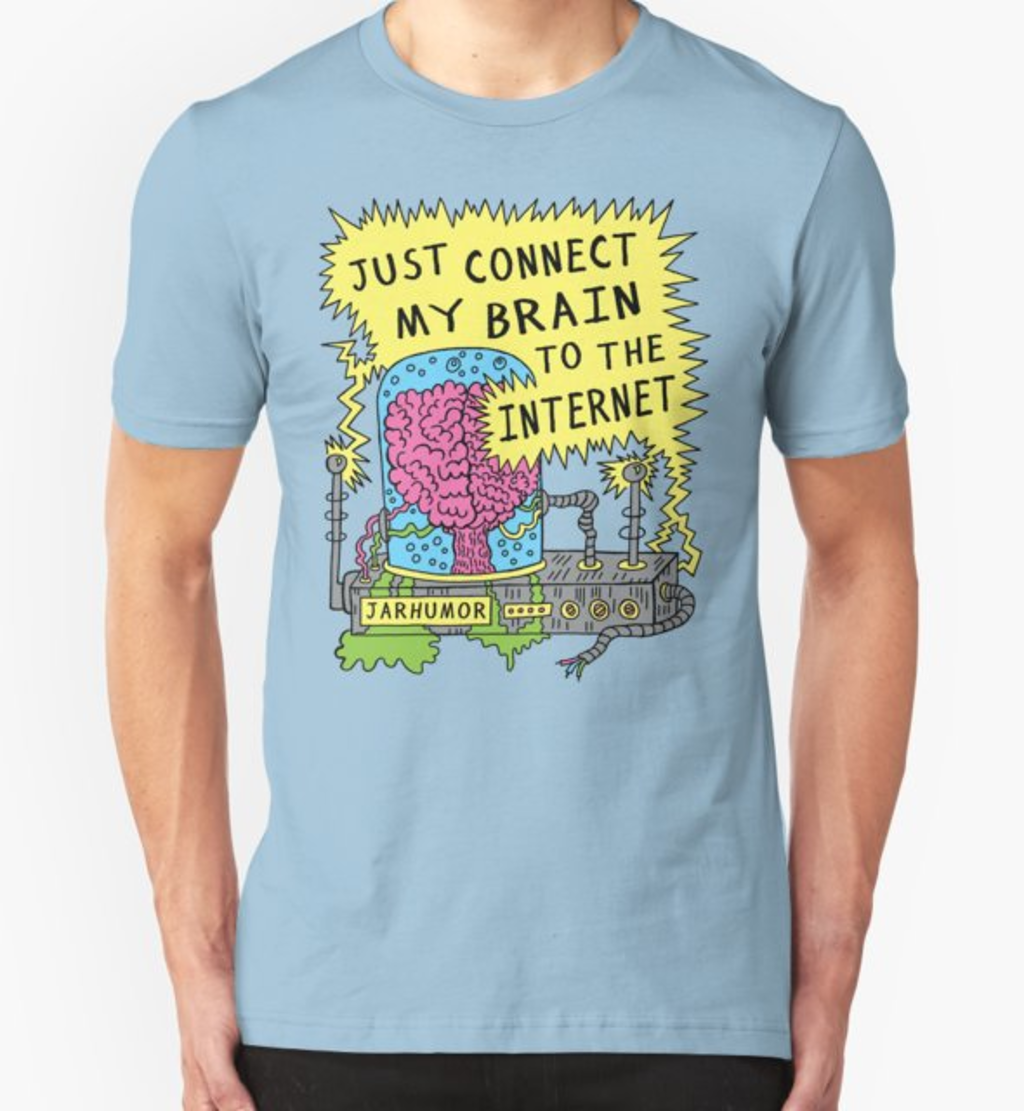 RedBubble: Internet Brain