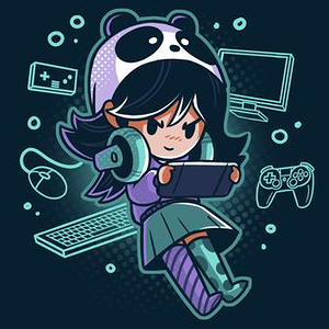 TeeTurtle: Gamer Girl