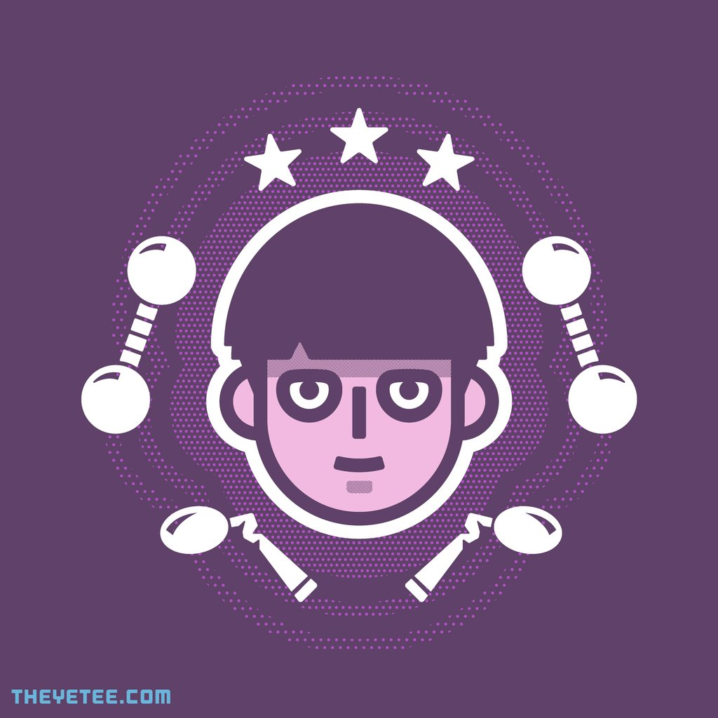 The Yetee: Psychic Boy by Mark Roberts