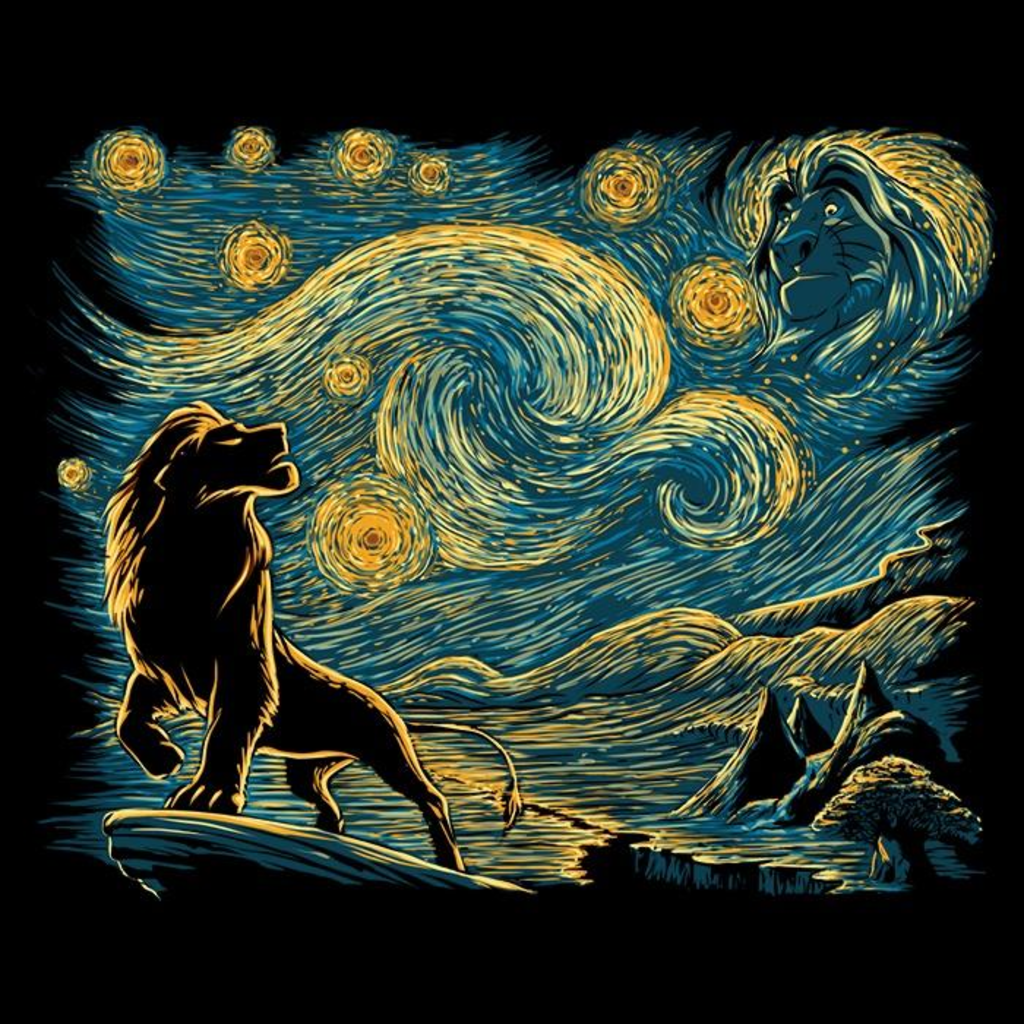 Once Upon a Tee: Starry King