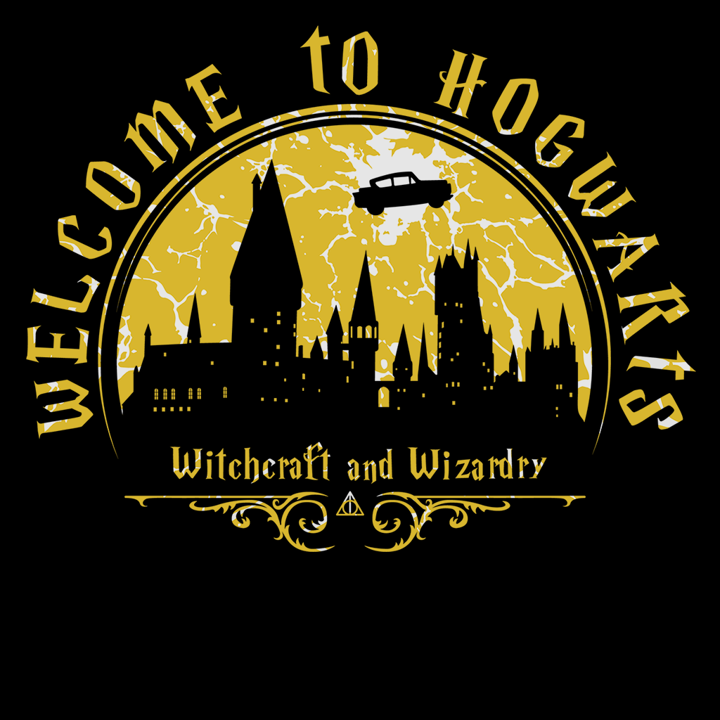 Pop-Up Tee: Welcome to Hogwarts