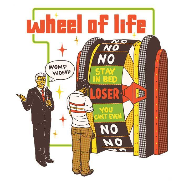 Once Upon a Tee: Wheel of Life