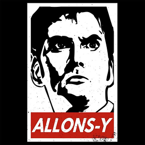 Blue Box Tees: Allons-y