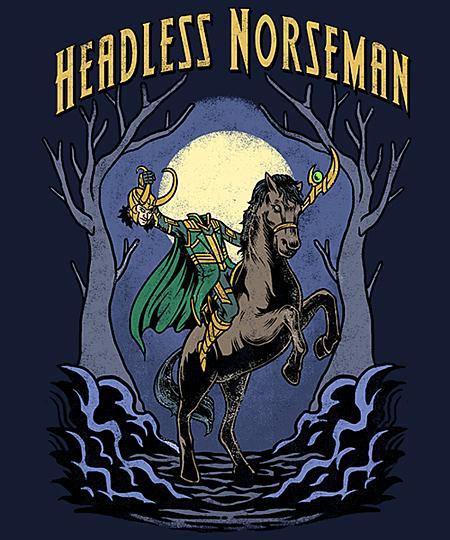 Qwertee: Headless Norseman