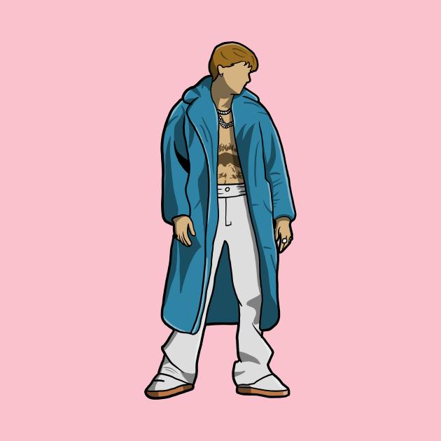 TeePublic: Justin Popstar