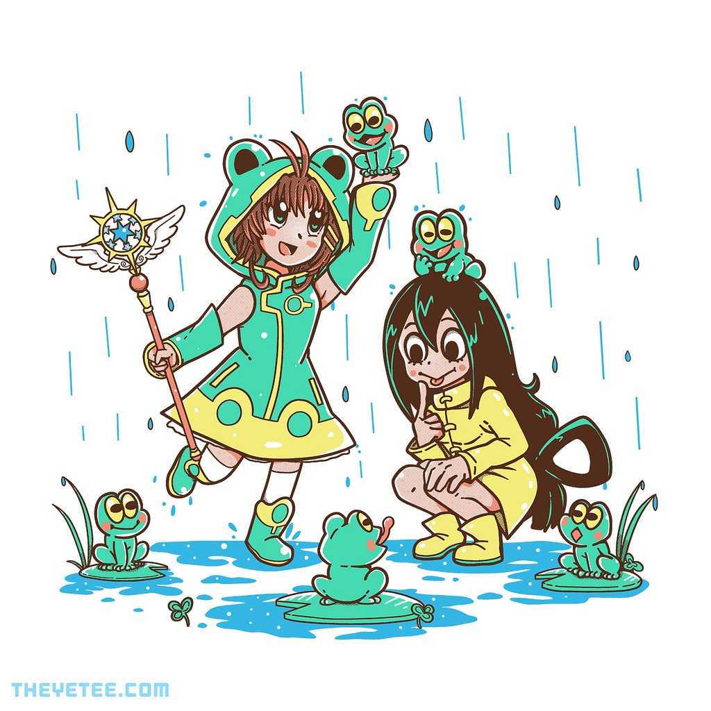 The Yetee: Frog Rainy Day