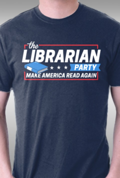 TeeFury: Librarian Party