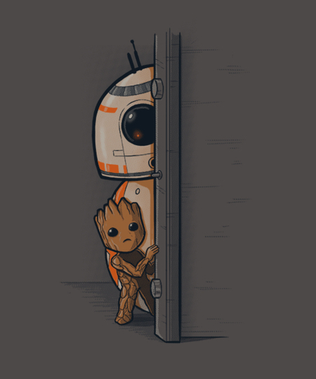 Qwertee: Best pals in the galaxy