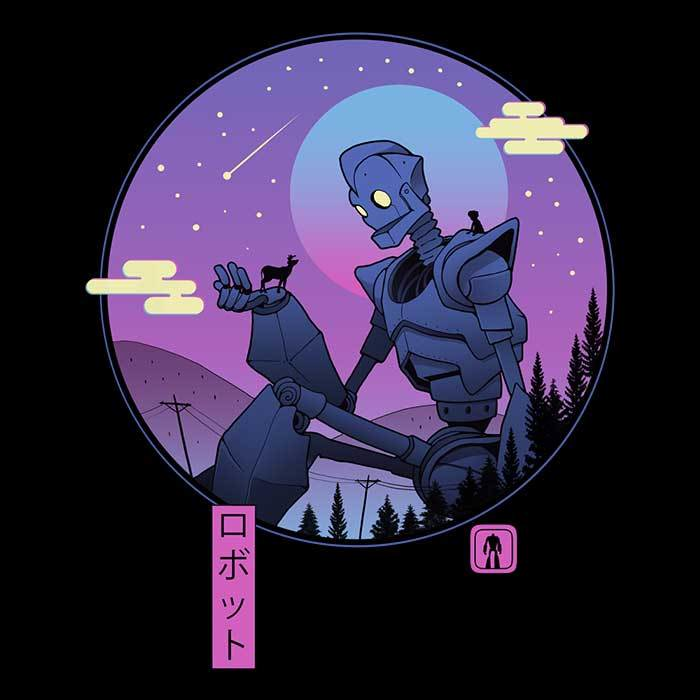 Once Upon a Tee: The Gentle Robot
