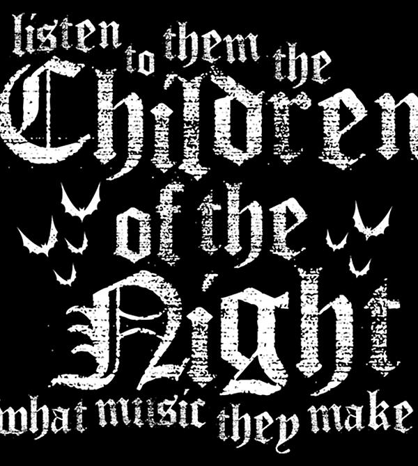 teeVillain: Children of the Night
