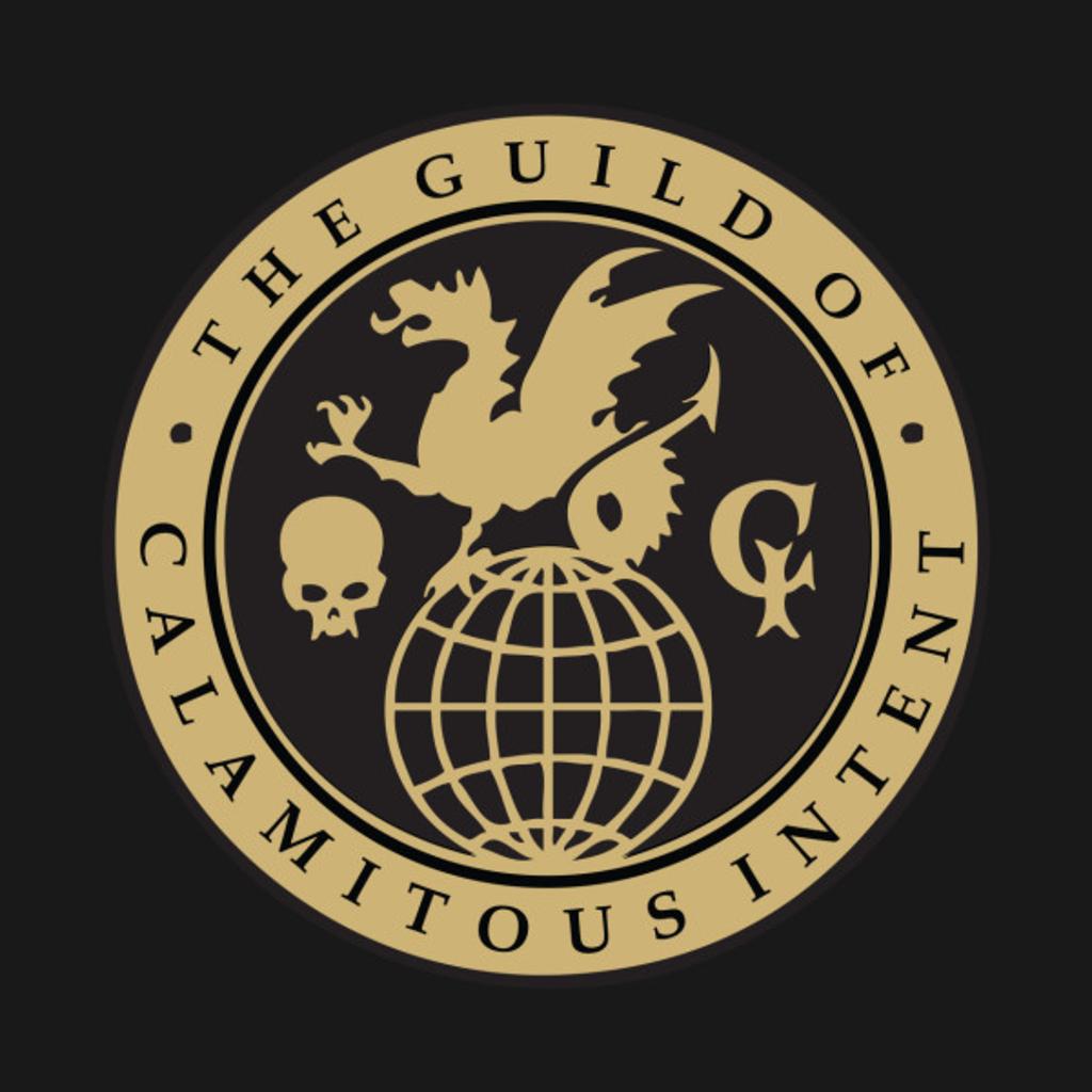 TeePublic: Guild of Calamitous Intent Logo
