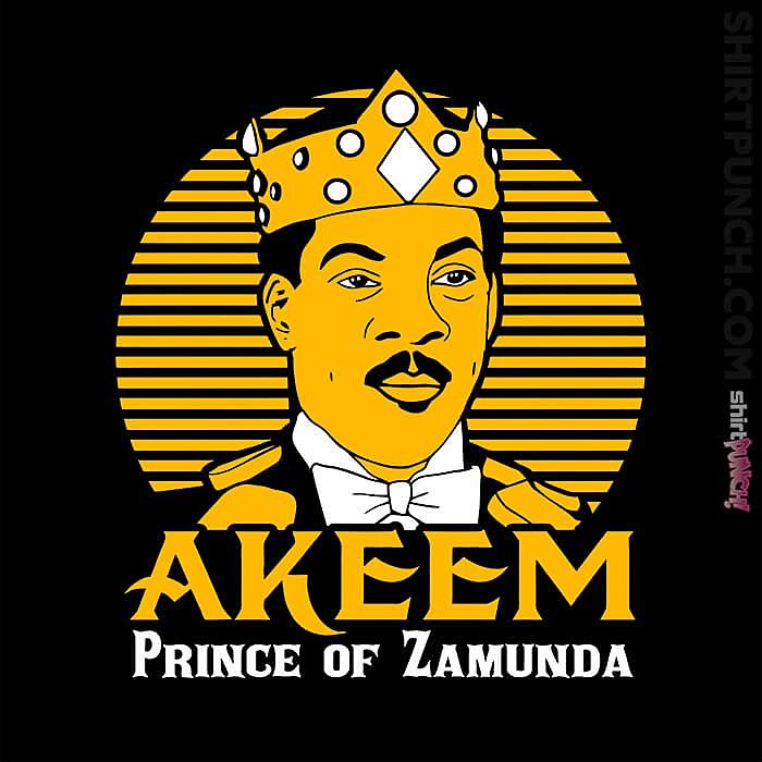 ShirtPunch: Akeem
