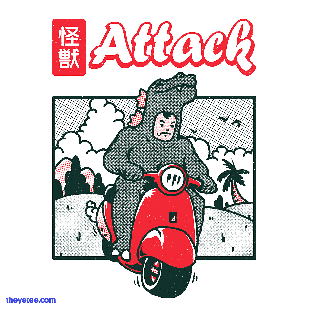 The Yetee: Kaiju Attack