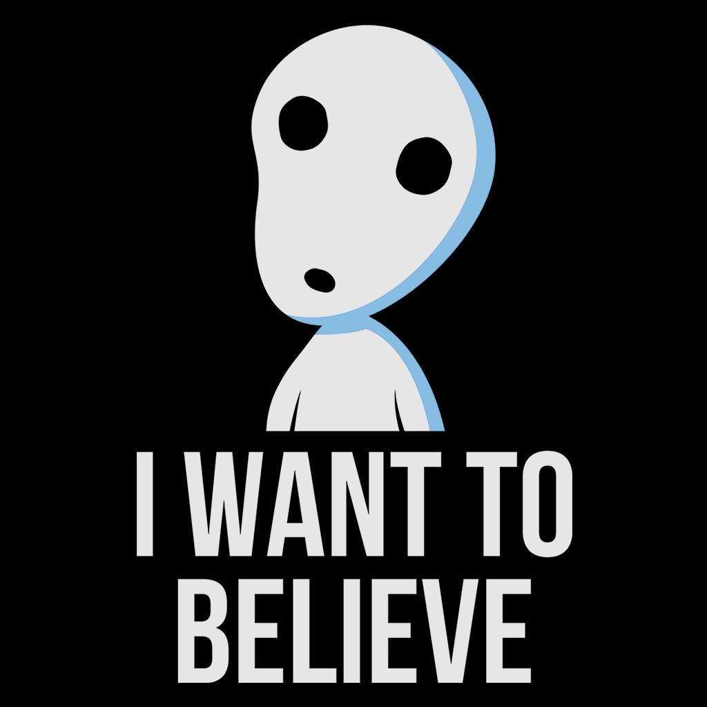 Pop-Up Tee: Believe in Spirits
