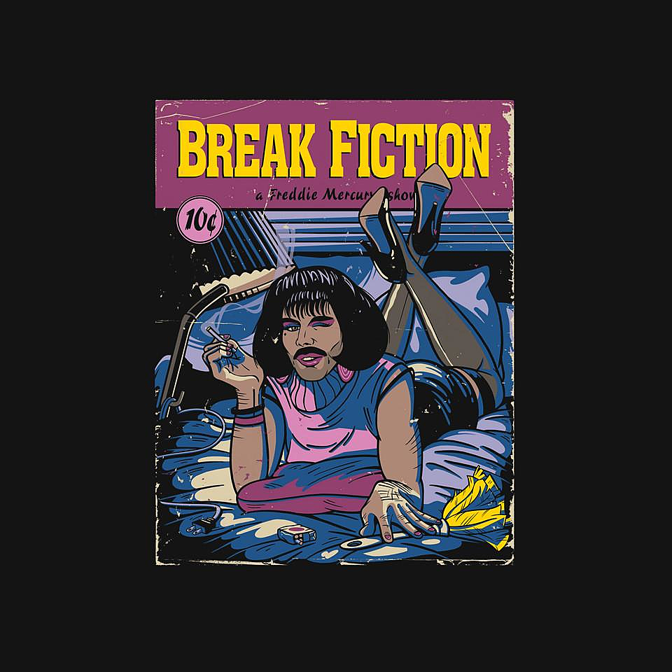 TeeFury: I Want to Break Fiction