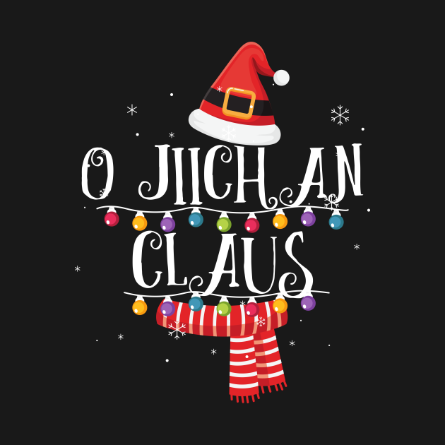 TeePublic: O Jiichan Claus Santa Christmas Family Matching
