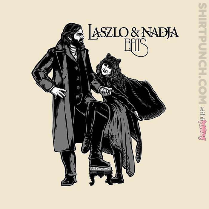 ShirtPunch: Laszlo & Nadja