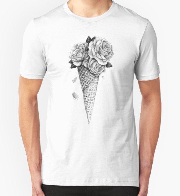 RedBubble: Ice Cream Roses