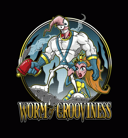 BustedTees: Worm of Grooviness
