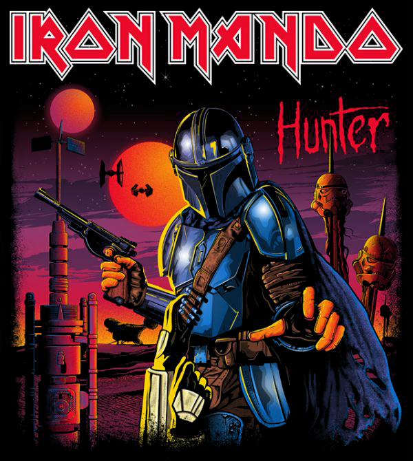 teeVillain: Iron Mando