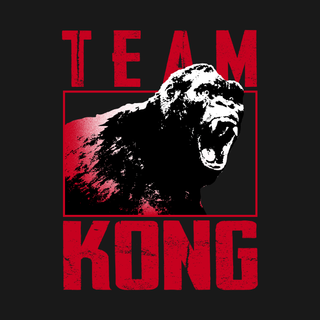 TeePublic: TEAM KONG - 5.0