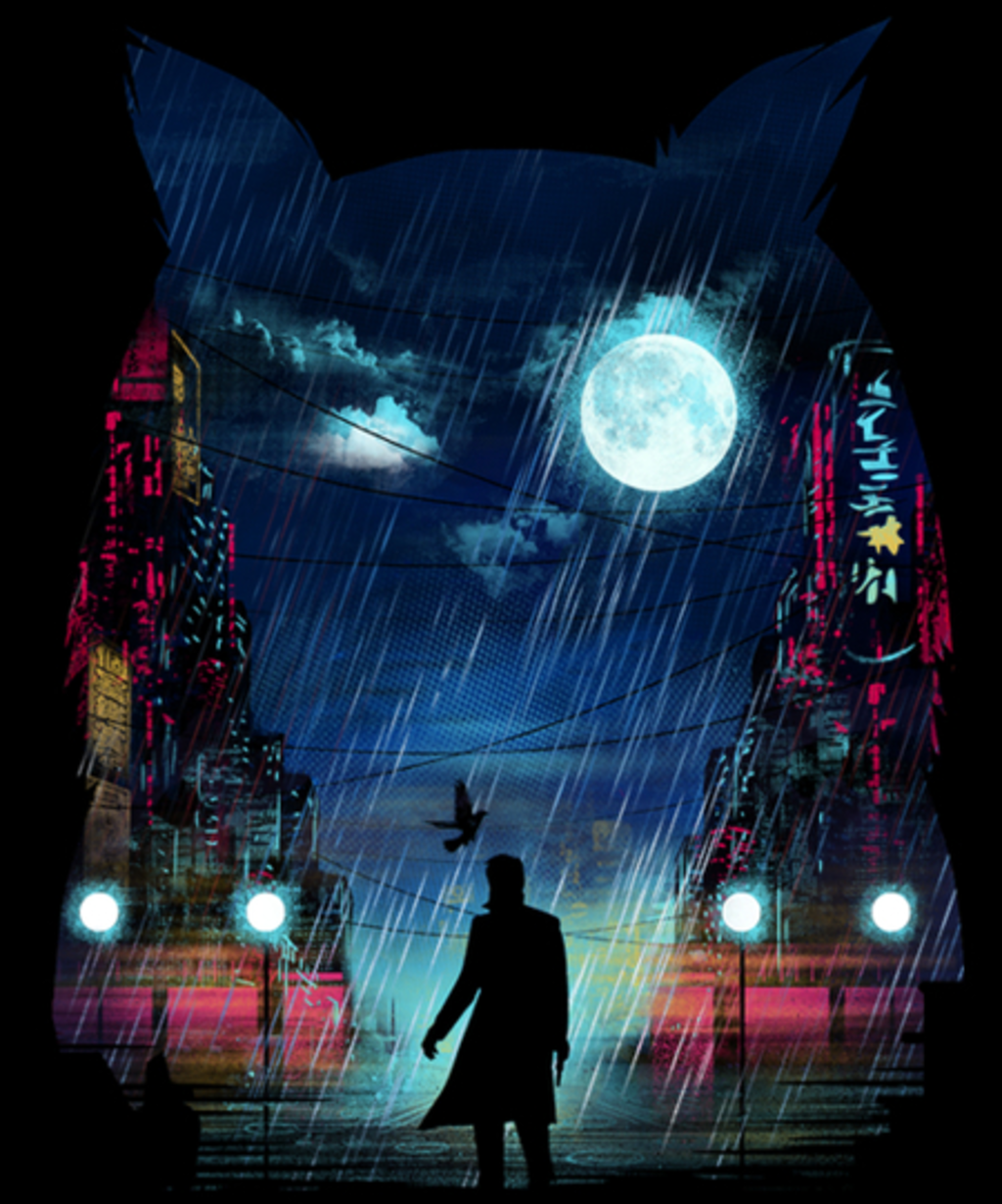 Qwertee: Tears in the Rain
