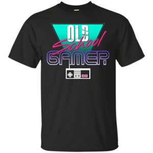Pop-Up Tee: Old School Gamer