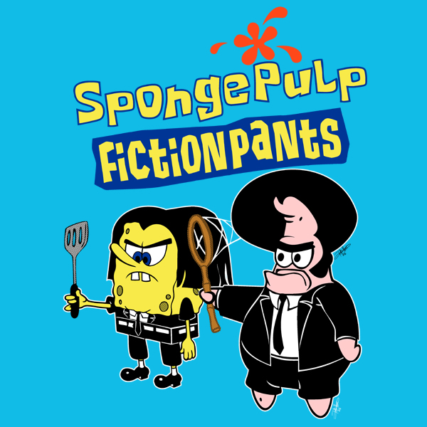 GraphicLab: SpongePulp FictionPants