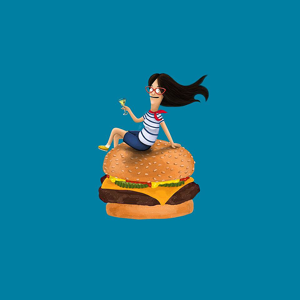 TeeFury: Burger Mom
