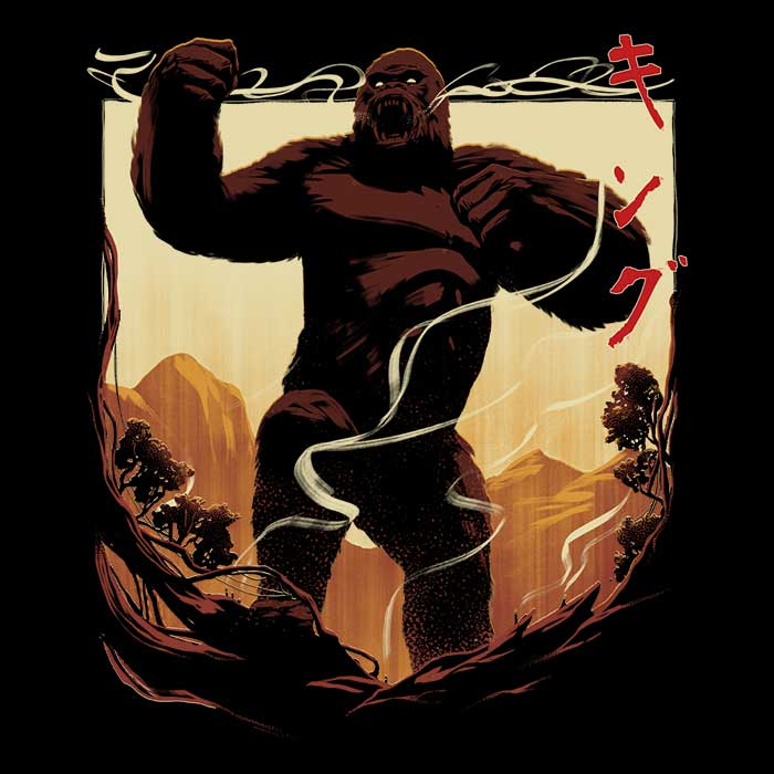 Once Upon a Tee: King Attack
