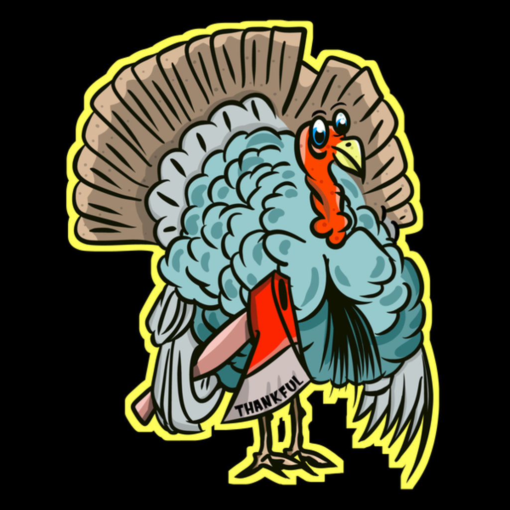 NeatoShop: Thanksgiving Funny Turkey