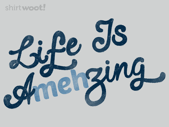 Woot!: Amehzing - $8.00 + $5 standard shipping
