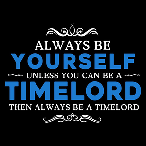 Blue Box Tees: Be A Timelord